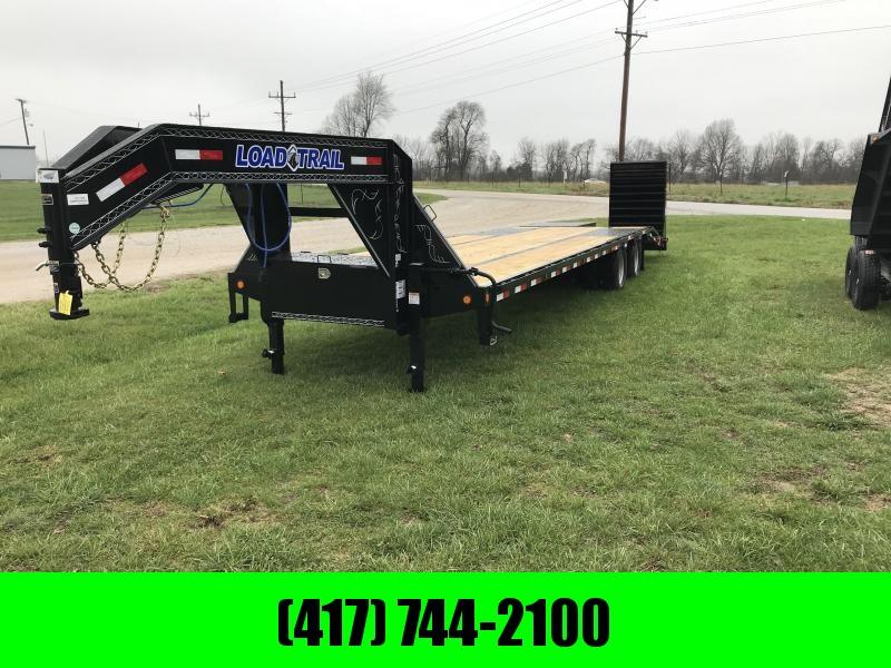 2018 Load Trail 102 x 32' Tandem Low Pro Gooseneck W/ Max Ramps