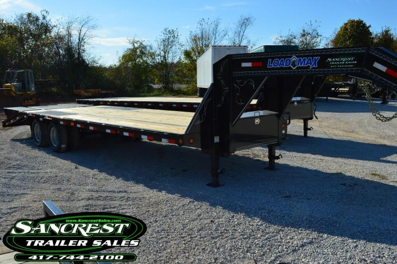 2017 Load Trail 28' Flatbed Gooseneck