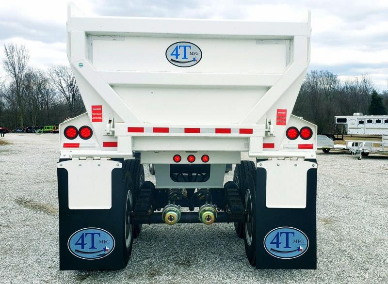 2018  4 T END DUMP TRAILER 32FT