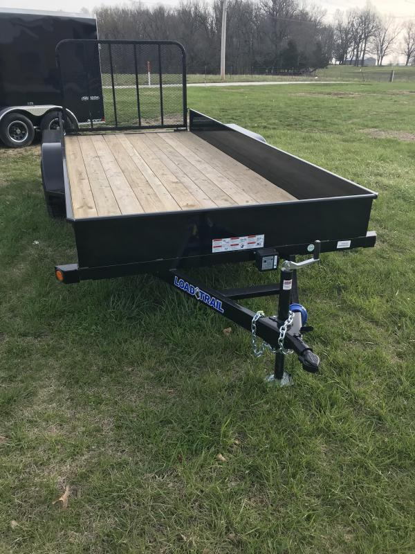 2018 Load Trail 77 x 16 Solid Side Utility Trailer