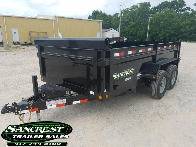2017 Load Trail 14' DUMP TRAILER