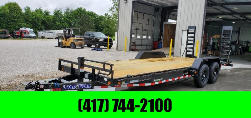 2019 Load Trail 83X22(20+2) TANDEM 14K EQUIPMENT TRAILER W/ FLIP UP RAMPS in Lowell, AR