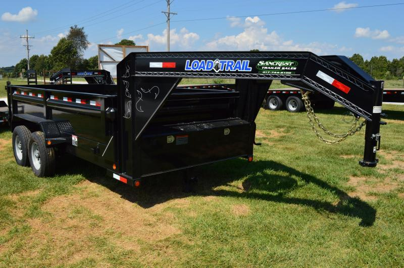 2017 Load Trail GD14 GOOSENECK Dump Trailer in Brandsville, MO