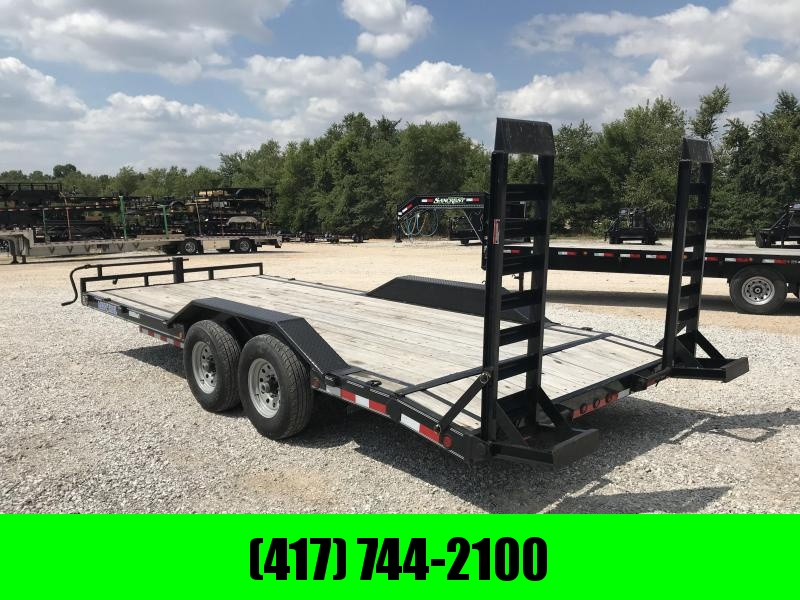 2016 Load Trail 102X20 EQUIPMENT Trailer W/FLIP OVER RAMPS AND DRIVE OVER FENDERS in Ashburn, VA