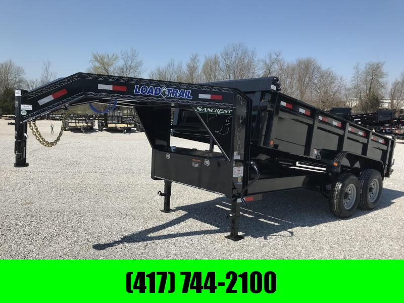 2019 LOAD TRAIL 83x14 TANDEM GOOSENECK WITH 7K AXLES