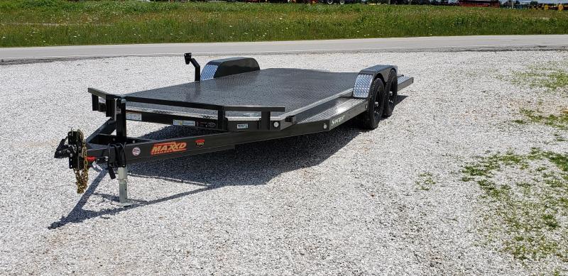 2019 MAXXD 83X22 TANDEM 10K WET BLACK  N5X CAR HAULER W/SPLIT TAIL