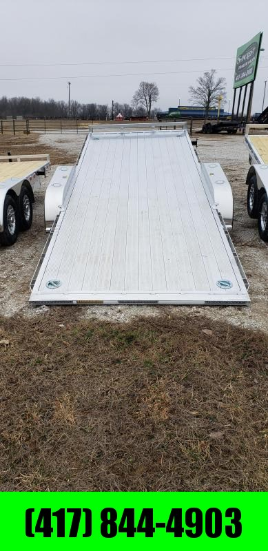 2019 H&H ALUMINUM 82 X 20 10K HYDRAULIC SPEEDLOADER EX W/5200 AXLES AND EXTRUDED DECK in Gamaliel, AR