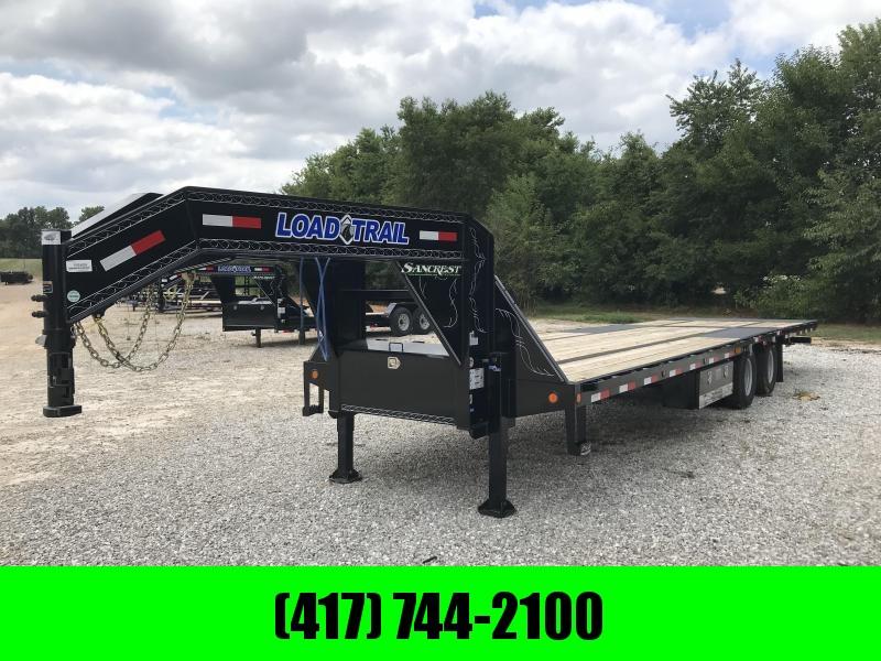 2018 Load Trail 102X32 GOOSENECK Flatbed Trailer W/HYDRO TAIL/JACKS