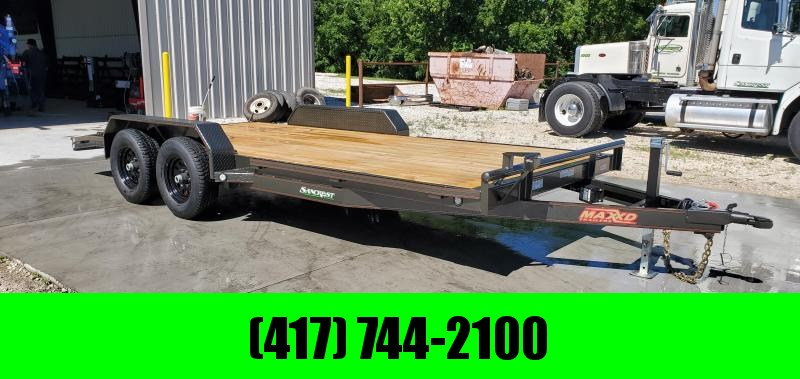 2019 MAXXD 83X18(16+2) TANDEM 10K CAR HAULER W/SLIDE-OUT RAMPS in Omaha, AR