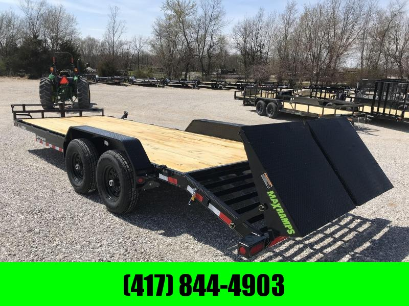 2019 Load Trail 83X22(19+3) TANDEM 14K EQUIPMENT HAULER W/MINI MAX RAMPS in Omaha, AR
