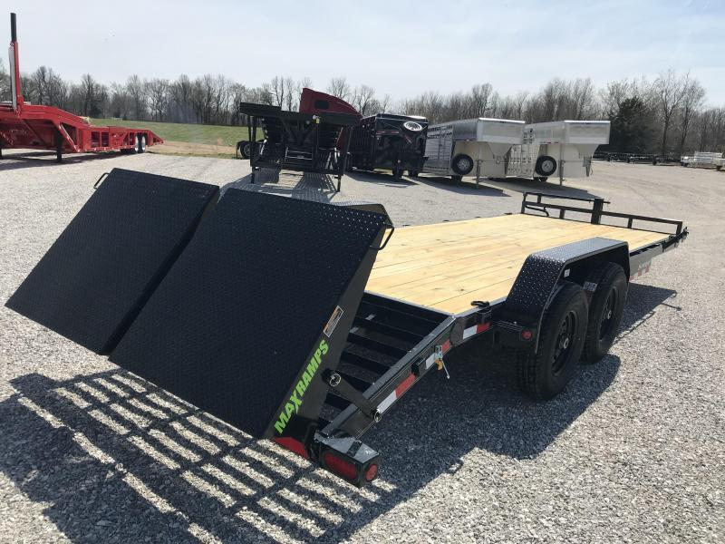 2019 Load Trail 83X22(19+3) TANDEM 14K EQUIPMENT HAULER W/MINI MAX RAMPS