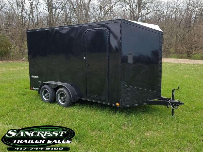 2019 Impact Trailers Enclosed Cargo Trailer 7' HEIGHT (BLACK OUT) 7 X14
