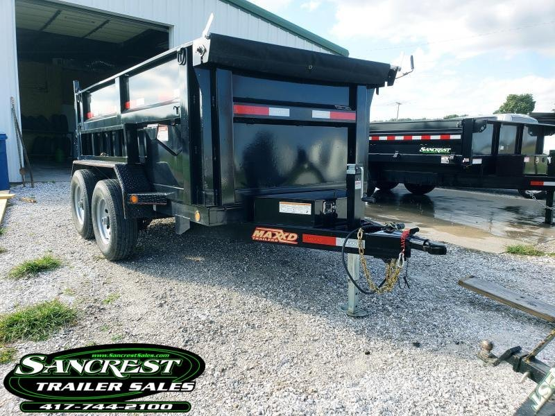 2018 MAXXD DUMP TRAILER  60 X 10 3FT SIDES