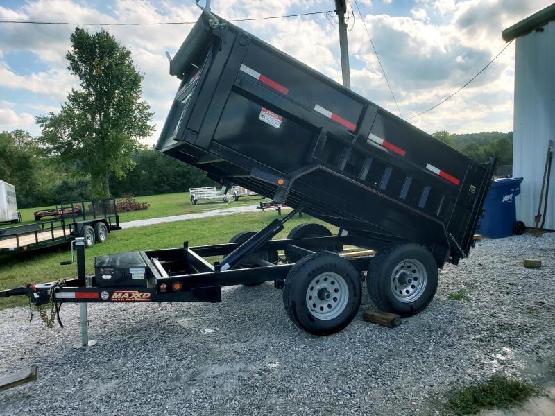 2018 MAXXD DUMP TRAILER  60 X 10 3FT SIDES