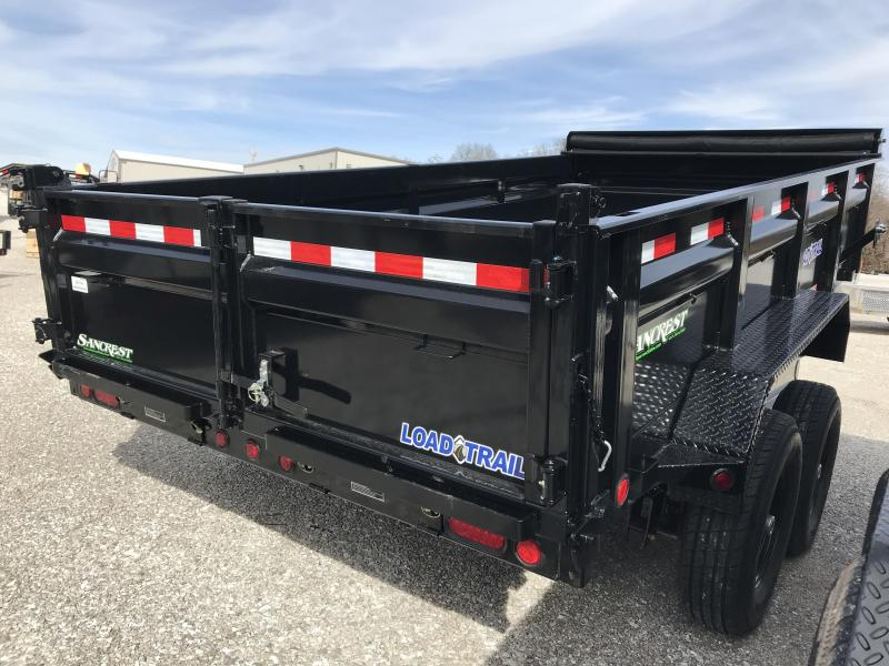 2019 Load Trail 83X14 TANDEM Dump Trailer W/7K AXLES