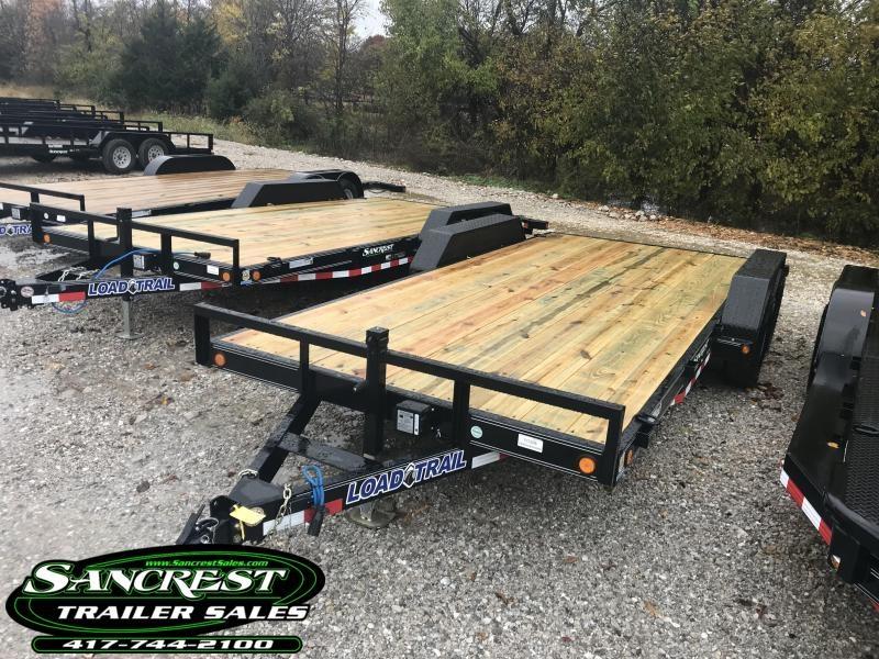 2019 Load Trail 83X18 CAR HAULER W/5200 AXLES