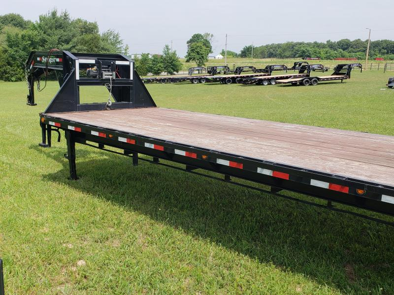 2015 Load Trail Gooseneck Flatbed Trailer 102 x40