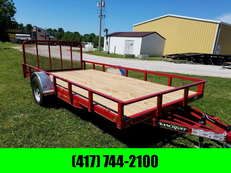 2017 Load Trail CHANNEL FRAME Utility Trailer
