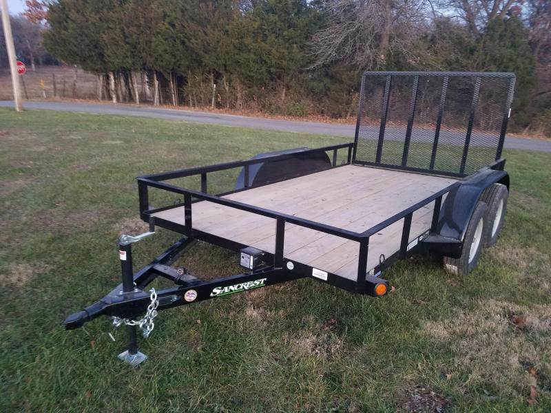 2018 Load Trail Utility Trailer 77 x 12 tandem axle