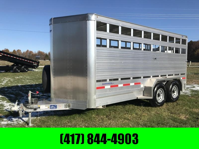 "2019 EBY Maverick LS 16'x6'5""x6'6"" LiveStock Trailer in Ashburn, VA"