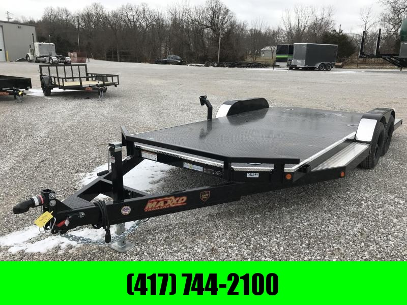 2019 MAXXD 83x20 SPORT HAULER w/3500 AXLES AND TRIM PACKAGE
