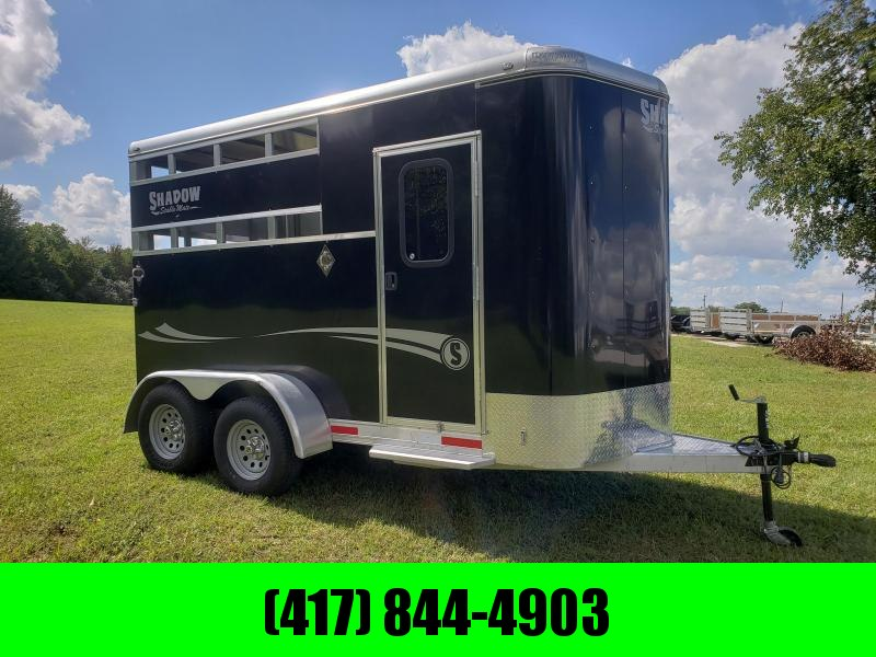 2016 SHADOW STABLE MATE 2 HORSE SLANT (USED TWICE) in Ashburn, VA