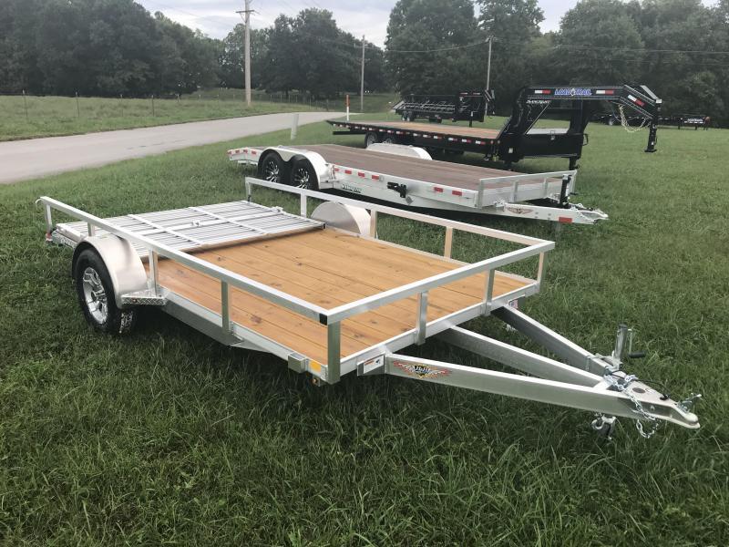 2019 H and H Trailer 82X12 Utility Trailer W/BI-FOLD GATE