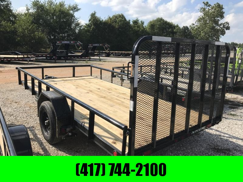 """2019 Load Trail 83x14 Utility Trailer w/5200 axle and 4"""" CHANNEL FRAME"""