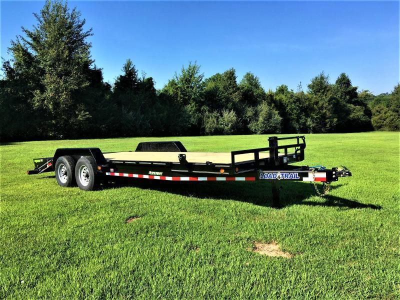 """2019 LOAD TRAIL 83"""" x 22' Tandem Axle Equipment Trailer w/ 7Ks"""