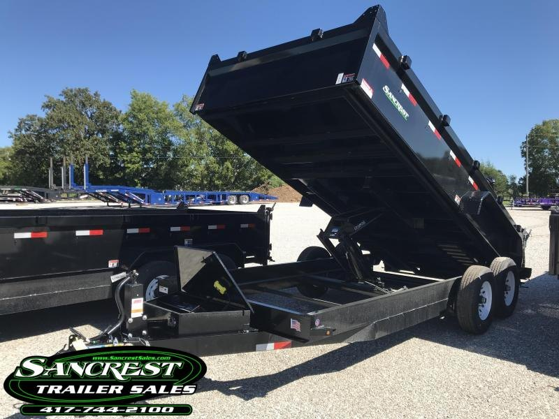 2019 H and H Trailer 83X16 LOW-PRO Dump Trailer W/7 GA. FLOOR AND 7K AXLES