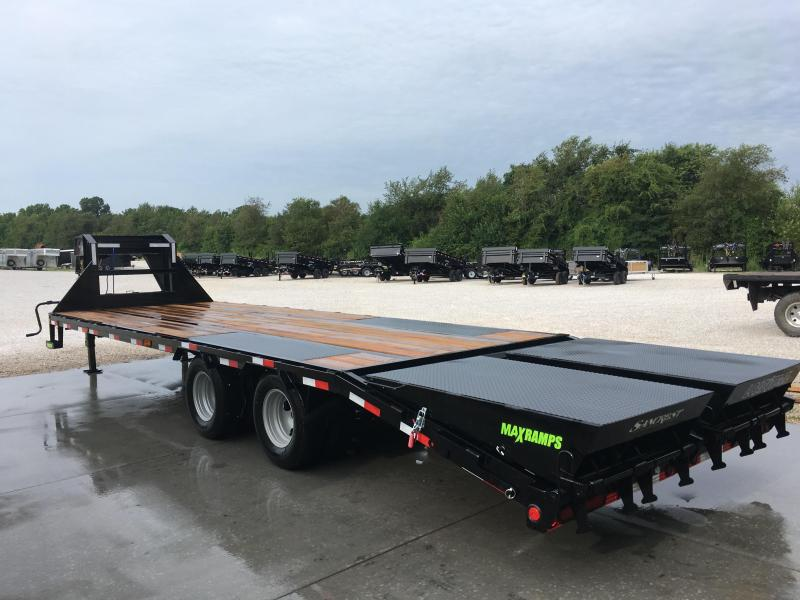 2019 Load Trail LOW PRO GOOSENECK Flatbed Trailer