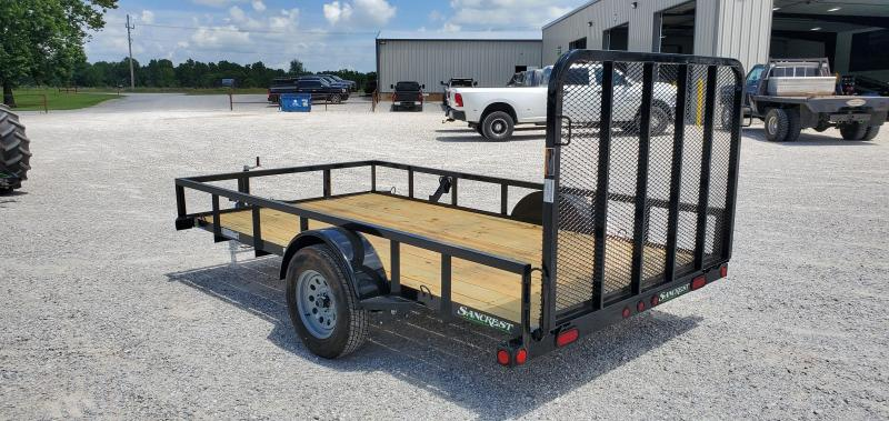 2019 Load Trail 77X12 UTILITY W/TUBE TOP & GATE