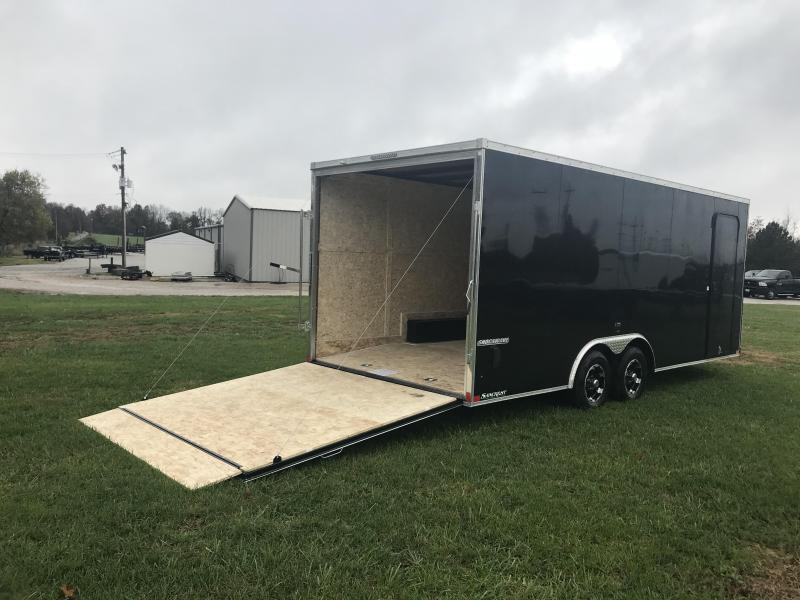 2019 Impact Trailers 8.5x20 Enclosed Cargo Trailer w/5200# axles/v-nose w/slant