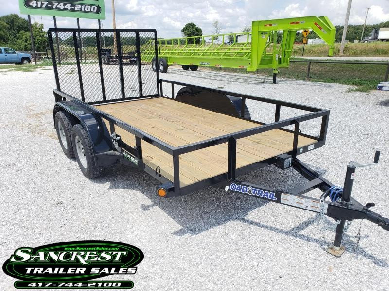 "2019 Load Trail 77"" x 12' Tandem Axle Utility Trailer"