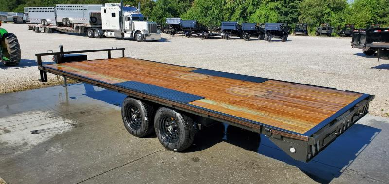2019 MAXXD 96X20 TANDEM 10K LO-PRO DECKOVER W/6' SLIDE OUT RAMPS