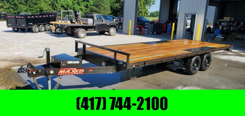 2019 MAXXD 96X20 TANDEM 10K LO-PRO DECKOVER W/6' SLIDE OUT RAMPS in Lincoln, AR