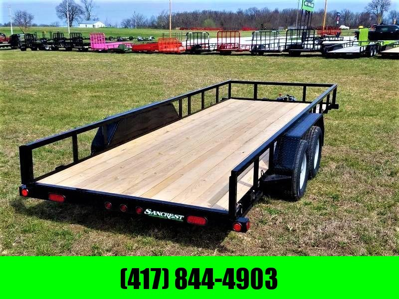 "2019 Load Trail  77"" x 18' Tandem Axle Utility Trailer in Ashburn, VA"