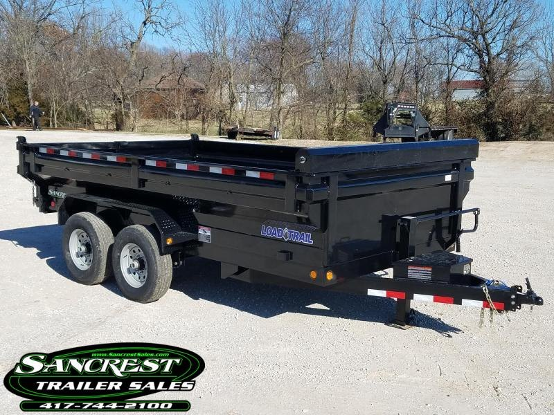 2018 Load Trail 83x14 King Bed Dump Trailer in Cassville, MO