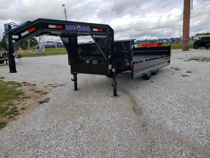 2019 Load Trail 96x16 TANDEM 14K DECKOVER GOOSENECK DUMP
