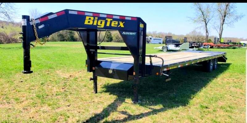 2014 BIG TEX 102 X 25 + 5 LOW-PRO GOOSENECK