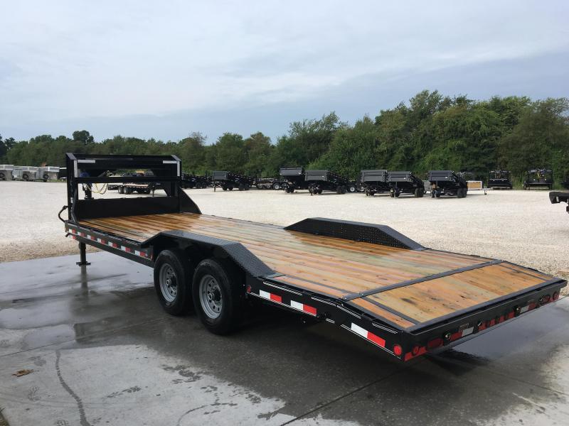 2019 Load Trail Tandem Gooseneck Carhauler Flatbed Trailer