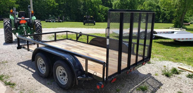 """2019 Load Trail 77"""" x 12' Tandem Axle Utility"""