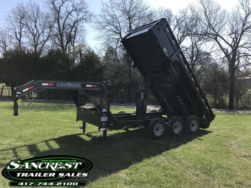 2018 Load Trail 83x16 Triple Axle Gooseneck  Dump Trailer in Duenweg, MO
