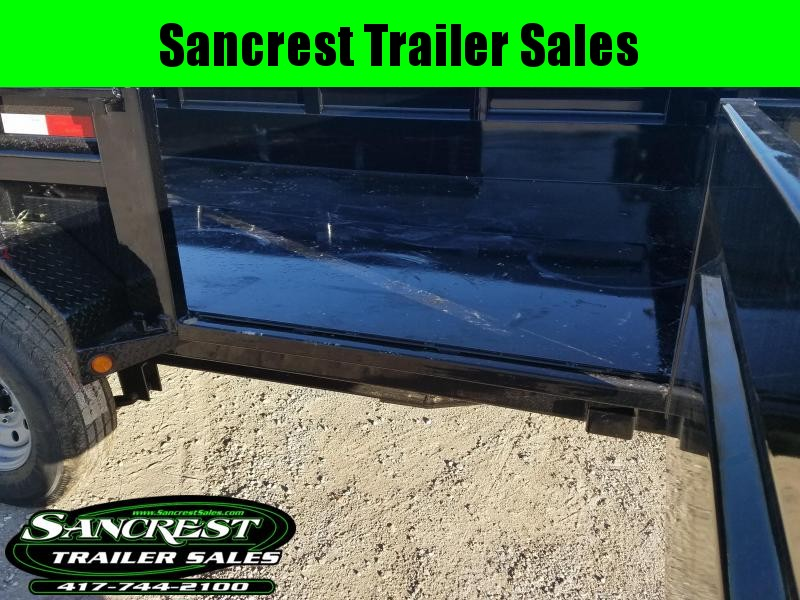 2018 Load Trail  Dump Trailer W/SIDE DOOR!