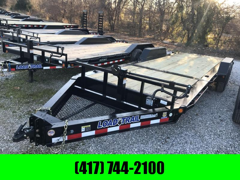 2019 Load Trail 83x22 TILT-N-GO I-BEAM Equipment Trailer W/7K AXLES in Omaha, AR