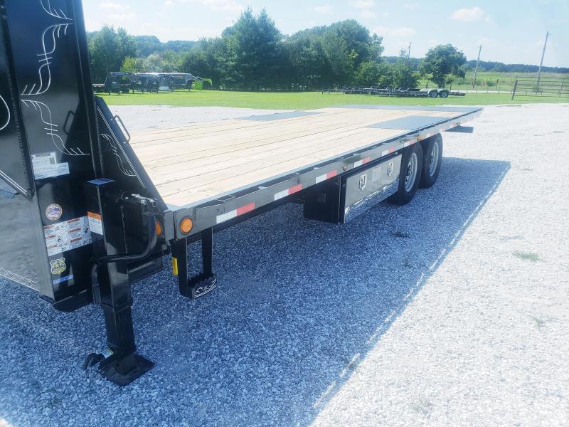 "2018 Load Trail 102"" x 24' Tandem Gooseneck Equipment Tilt Deck"