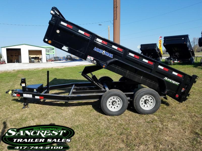 "2018 Load Trail 83"" x 14' Tandem Axle Low-Pro DumpTrailer in Brandsville, MO"
