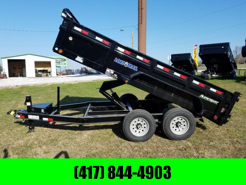 "2018 Load Trail 83"" x 14' Tandem Axle Low-Pro DumpTrailer"