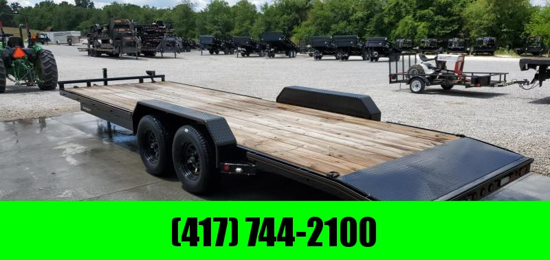 2019 MAXXD 83X24 TANDEM 7K WET BLACK CAR HAULER W/ SLIDE OUT RAMPS in Bella Vista, AR