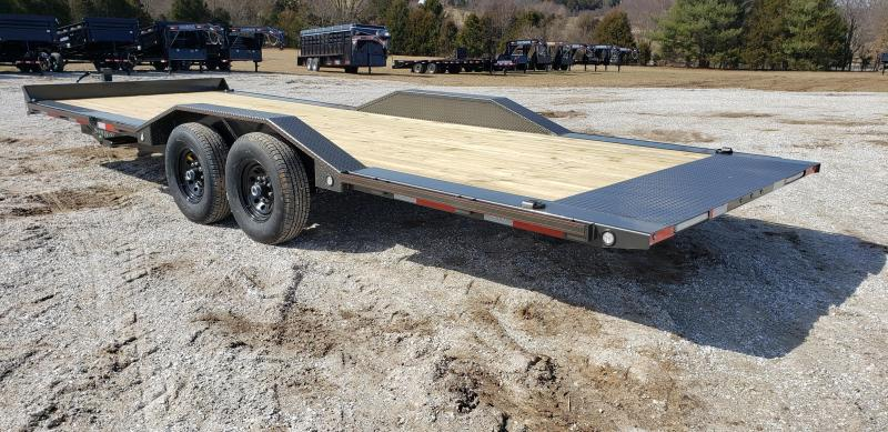 2019 MAXXD 102X24 TANDEM FULL-TILT CAR HAULER W/7K AXLES AND DRIVE-OVER FENDERS